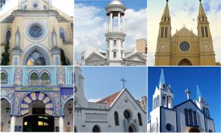 Locais sagrados em Curitiba, imagem da...